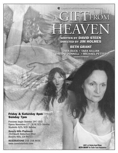 Beth Grant and Tara Buck star in A Gift From Heaven
