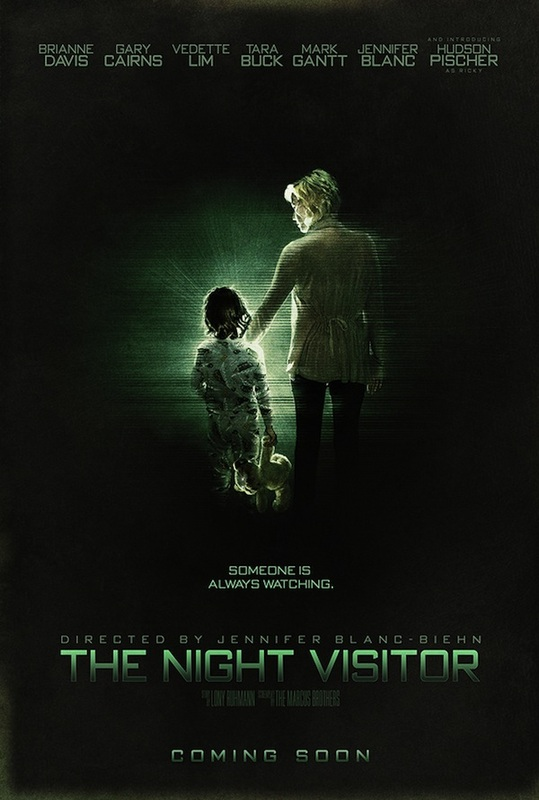 Picture, Tara Buck, Brianne Davis, Gary Cairns, Vedette Lim, Jennifer Blanc, The Night Visitor