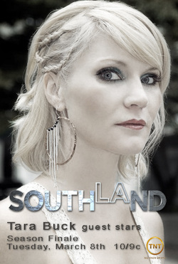 Tara Buck in Southland on TNT with C. Thomas Howell, Regina King and Kevin Alejandro